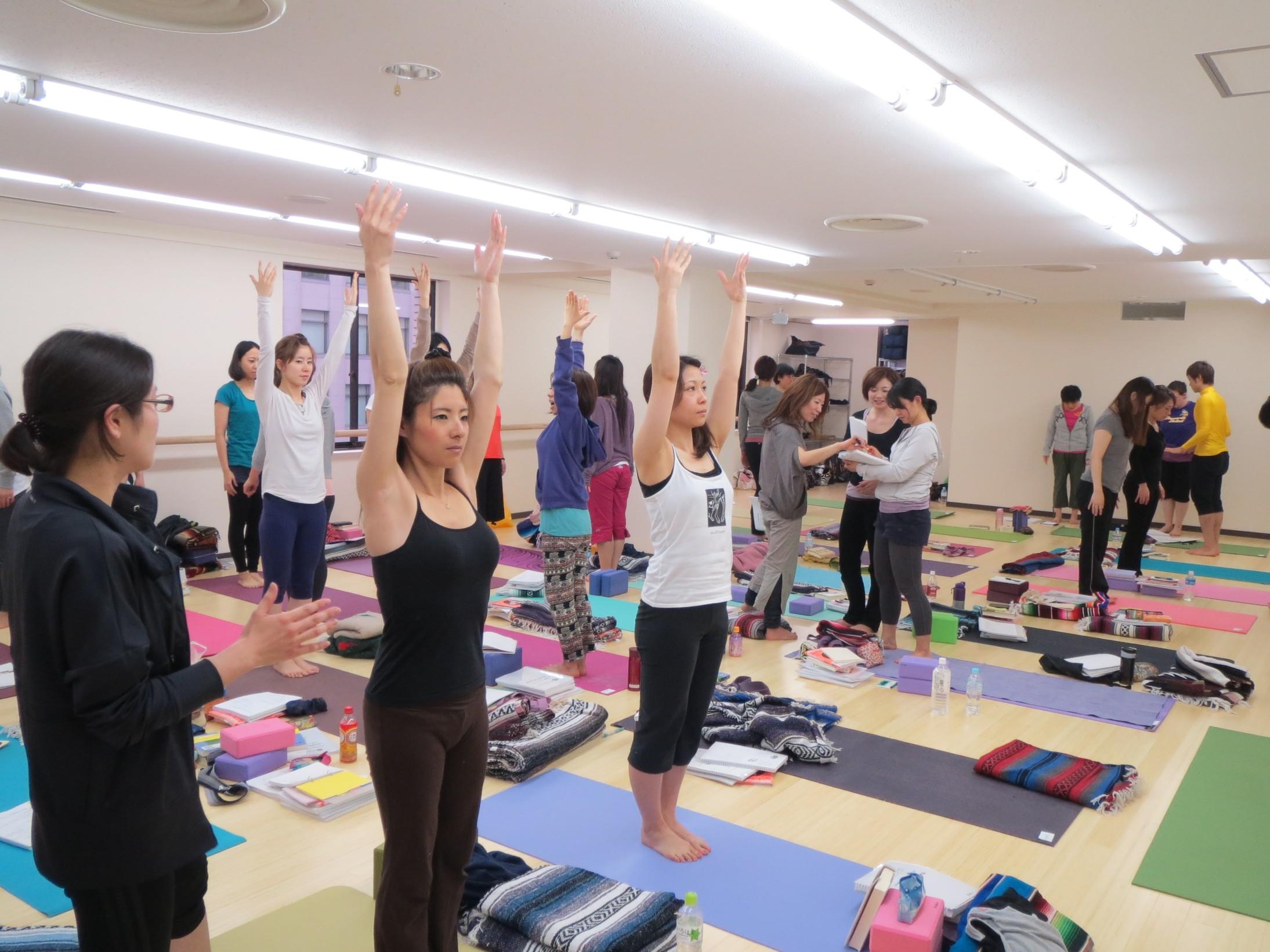 Yogaworks 200hr Teacher Training 2012, Tokyo