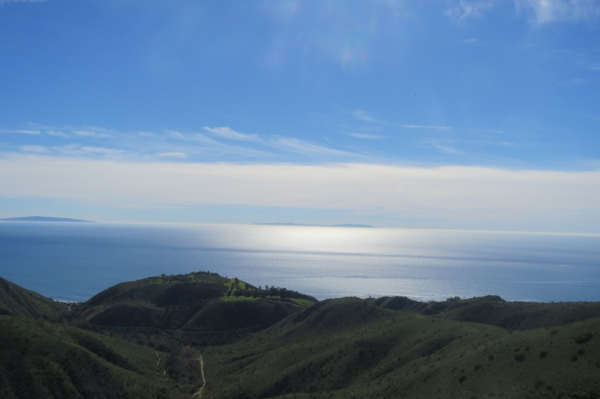 A splendid view of the Pacific Ocean