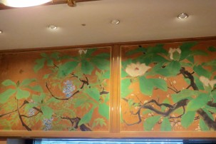 Mural in Wedding hall