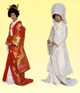 Women's Traditional Japanese Wedding Outfits