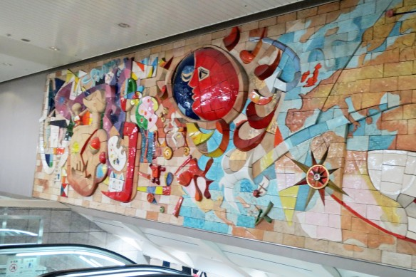 Great Mural at Yokohama Station