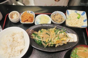 Homestyle Japanese meal