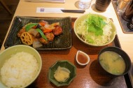 Lunch, back at Ootoya