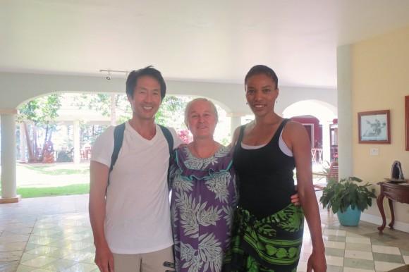 David, Jeannie & Romy