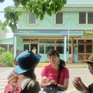Ice cream in Hawi