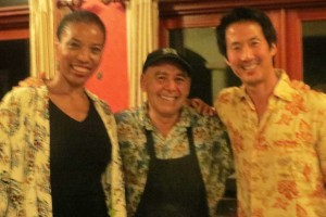 Romy, Mo & David