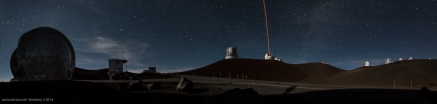 Mauna Kea Observatory at Night