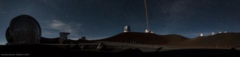 Mauna Kea Observatory at Night