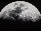 The Moon at Mauna Kea. Courtesy of Phil Barnes
